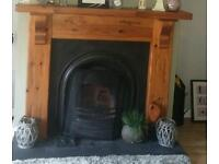 Fireplace and fire surround