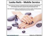 Lanka Nails - Mobile Service