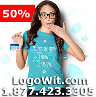50% OFF DEAL - 3 DAYS ONLY - CUSTOM LOGOS / TSHIRT & MORE