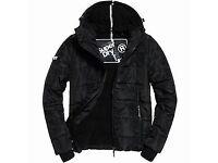 Black Superdry sport Jacket like new
