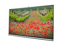 "Panasonic 55"" 3d smart Led tv Wifi freeview & Freesat Hd + built-in camera absolutely stunning tv"