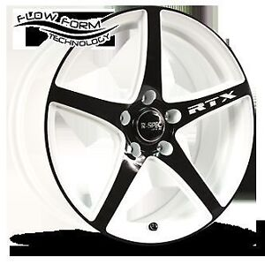 WANTED WHITE/BLACK ALLOYS FOR HONDA CIVIC