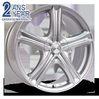 4 Mags RTX Stratus 18X7.5 5bolts Silver NEUF