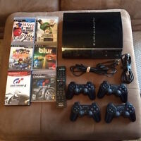 PS3 Backwards compatible - with 9 games and Rock Band.