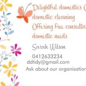 Delightful Domestics commercial and residential cleaning Gordon Tuggeranong Preview