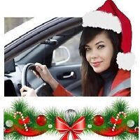 HIRING DRIVERS FOR XMAS RUSH: UP TO $40/HR + $100 SIGN UP BONUS!