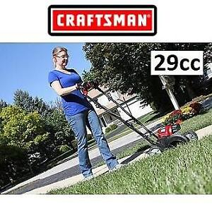 USED* CRAFTSMAN 29CC GAS EDGER 77380 188515428 4-CYCLE WHEELED LAWN GARDEN GRASS