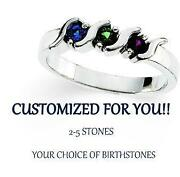 Mothers Birthstone Ring