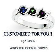 Mothers Birthstone Ring