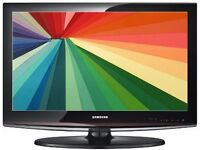 "Samsung 32"" LCD HD Widescreen TV With Remote & Built-In Freeview"