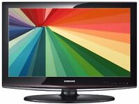"""Samsung 32"""" LCD HD Widescreen TV With Remote & Built-In Freeview"""