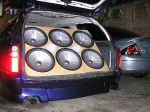 Subs amps speakers + more Kallangur Pine Rivers Area Preview