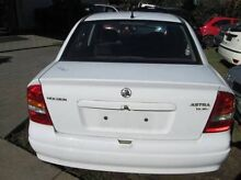 Holden Astra 2002 white 27 thou kms  Wrecking all parts available. Smithfield Playford Area Preview