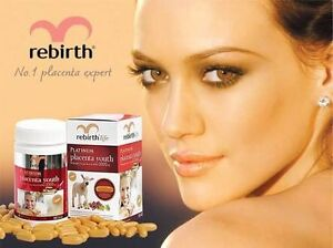 Re-birth placenta youth capsules 60 capsules South Penrith Penrith Area Preview