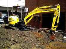 Pool demolition soil removal concrete removal  excavator hire Pymble Ku-ring-gai Area Preview