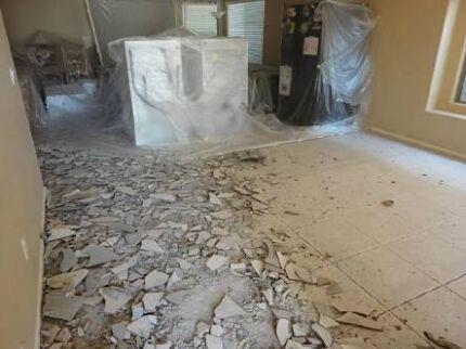 Tile & Carpet removal / Demolition services