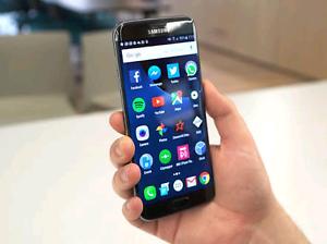 Samsung s7 edge Black Homebush Strathfield Area Preview