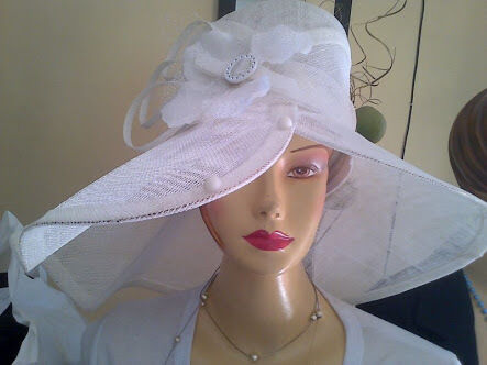 649780f16fe The most unique Sinamay and crin Hats for sale