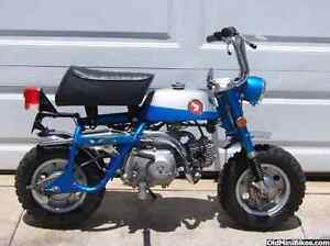 Wanted To Buy Old Honda Minibikes Adelaide CBD Adelaide City Preview