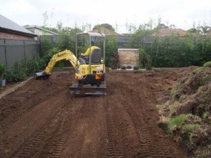excavation/concreting Casula Liverpool Area Preview