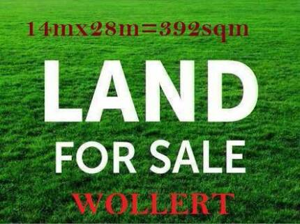 LAND FOR SALE 392SQM WOLLERT
