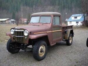 Wanted: willys pickup any condition Burnie Burnie Area Preview