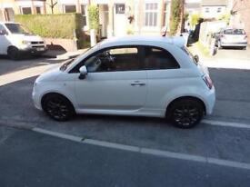 Fiat 500 0.9 105 TwinAir S, Full Service History, 1 Lady Owner