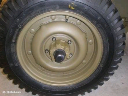 Wanted: ford gpw jeep wheels