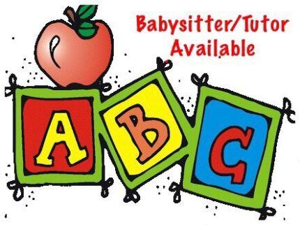 Babysitter/tutor available - qualified primary school teacher Woodridge Logan Area Preview