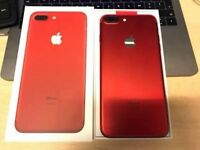 IPHONE 7 PLUS RED UNLOCKED 128GB BRAND NEW