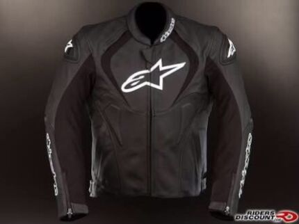 Alpinestars Jaws Leather Jacket AirFlow Perforated