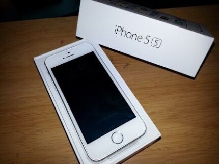 Perfect new condition iPhone 5s 32gb white & silver Epping Whittlesea Area Preview