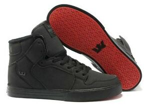 SUPRA Vaider black - red sole 2013 Wiley Park Canterbury Area Preview
