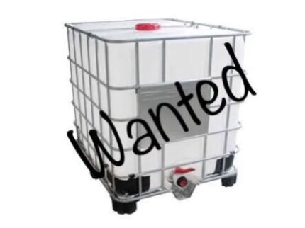 Wanted: Wanted pod for gray water