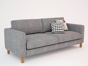 Grey Karlsad IKEA Sofa Lounge 3 Seater North Sydney North Sydney Area Preview
