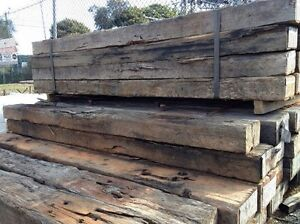 A Grade Reclaimed Railway Sleepers North Rocks The Hills District Preview