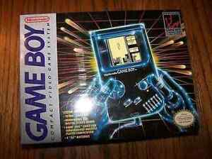 WANTED! Original Nintendo Gameboy box Surrey Downs Tea Tree Gully Area Preview