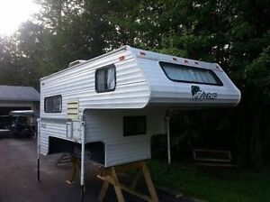 ISO 6.5 to 8 foot lightweight truck camper