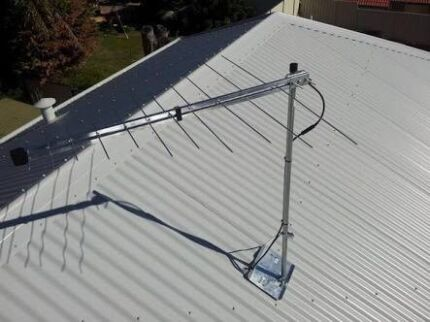 Installing TV Antenna and TV wall Mount