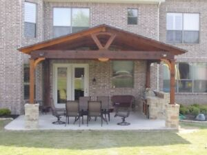 Custom patio & patio roofs