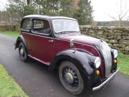 Wanted: Want a Morris 8 tudor sedan 1938