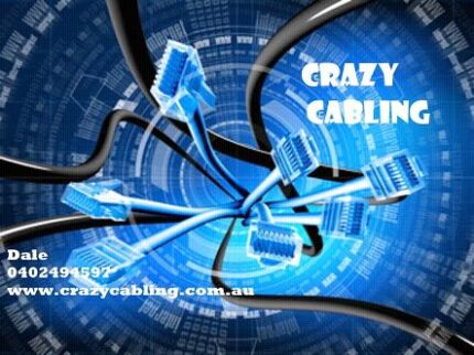 Crazy Cabling - Telephone/Data cabling installations Redcliffe Redcliffe Area Preview