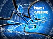 Crazy Cabling- we will beat any written quote Redcliffe Redcliffe Area Preview
