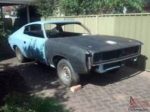 WANTED Valiant Charger Chrysler project car Newcastle Newcastle Area Preview