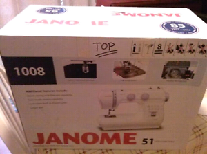 Janome with heaps of free extras Noosa Heads Noosa Area Preview