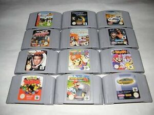 Wanted all Nintendo 64 games and consoles Croydon Charles Sturt Area Preview
