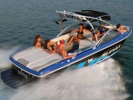 Ski boat wanted bowrider wakeboard rear mount inboard