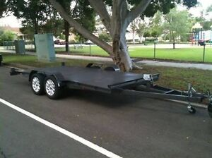 Car trailer full floor 2 ton built to carry large cars Canberra City North Canberra Preview