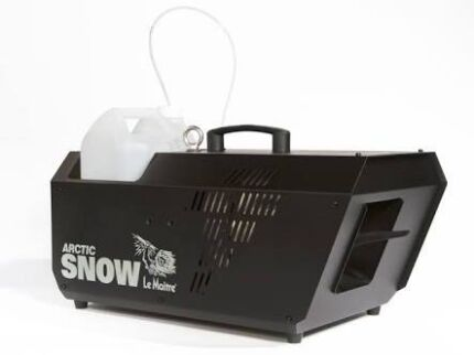 Snow machine hire.