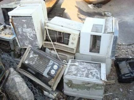 Free removal service of old and broken air conditioners